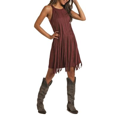 Rock&Roll Women's Front Fringe Dress