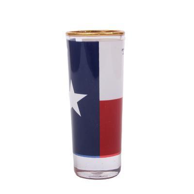 Texas Flag Glass Shooter