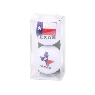 2 Pack Texas Golf Balls