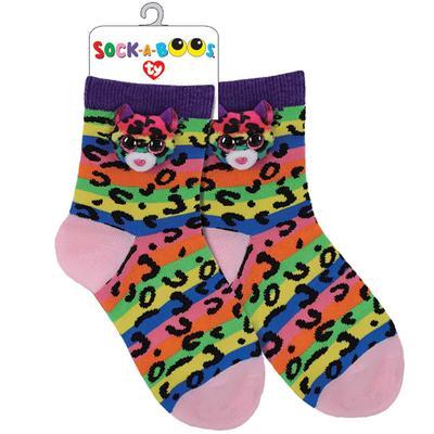 Dotty Leopard Socks
