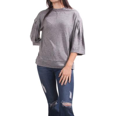 Another Love Women's Bubble Sleeve Top