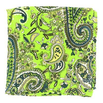 Green Paisley Silk Wild Rag