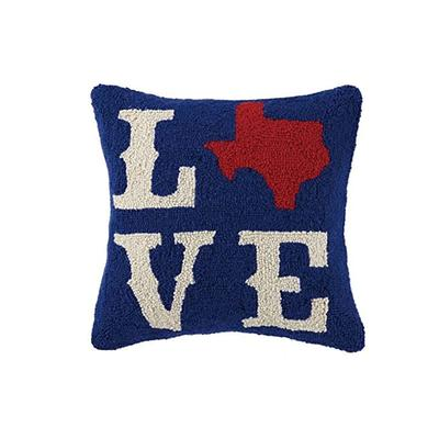 TX Love Hook Pillow