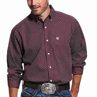 Ariat Men's Maklin Wrinkle Free Classic Fit Shirt