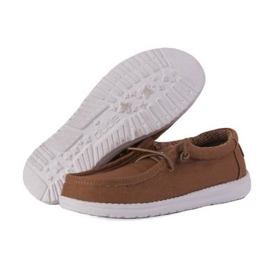 Hey Dude Youth Tan Wally Shoes
