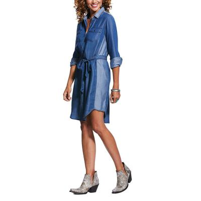 Ariat Women's Fresh Air Front Tie Dress
