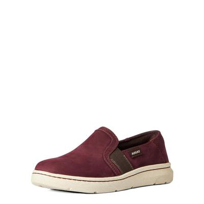 Ariat Women's Maroon Eco Ryder Slip-On Shoes
