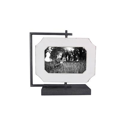 2 Sided Wooden Spinning Picture Frame