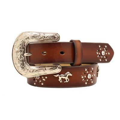 Ariat Girl's Horse Concho Belt