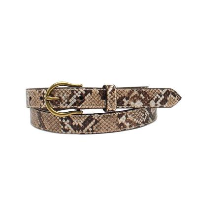 Ariat Ladies Metallic Snake Skin Belt
