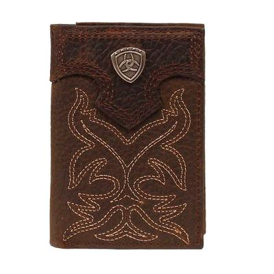Ariat Boot Stitch Trifold Wallet