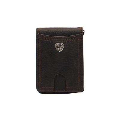 Ariat Clip Shield Concho Bifold Wallet