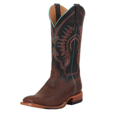 Horse Power Men's Distressed Bison Western Boots