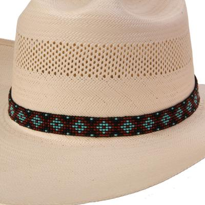 Austin Accent's 7 Row Elastic Beaded Hat Band
