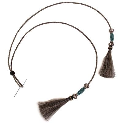 Austin Accent's Turquoise Horsehair Stampede Hat Band