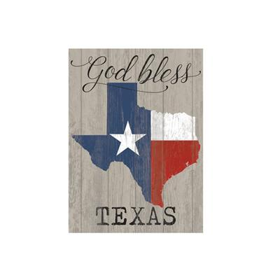 God Bless Texas Acrylic Wall Art