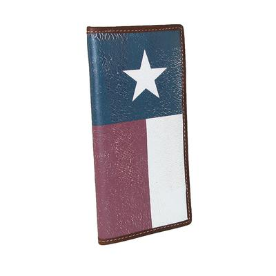 Distressed Texas Flag Rodeo Wallet