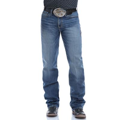 Cinch Men's Relaxed Fit Grant August Medium Stone Wash Jeans