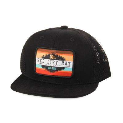 Red Dirt Hat Co.'s Youth Black Mesh Cap