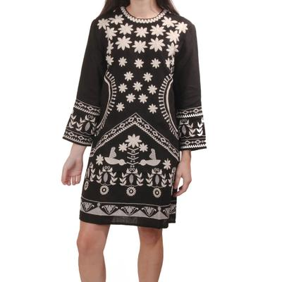 Uncle Frank Women's Milagro Embroidered Dress