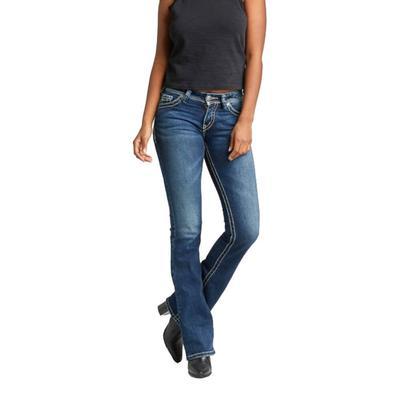 Silver Jeans Ladies Bootcut Midrise Jeans