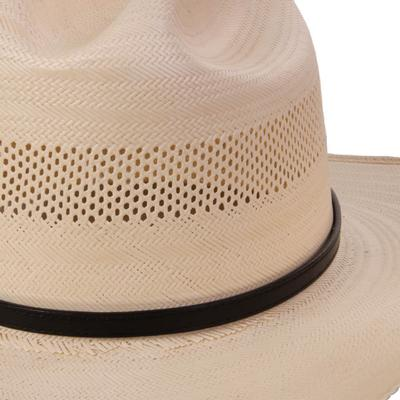 Austin Accent's 3/8 Leather Hat Band BLK
