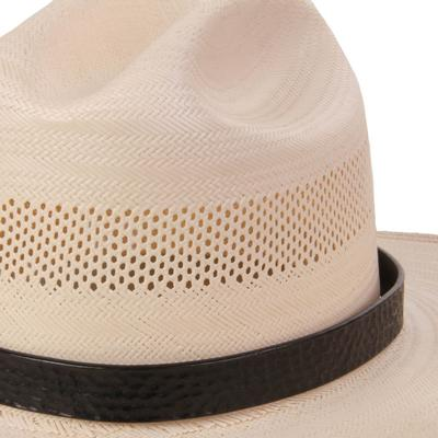 Austin Accent's Genuine Leather Hat Band BLK