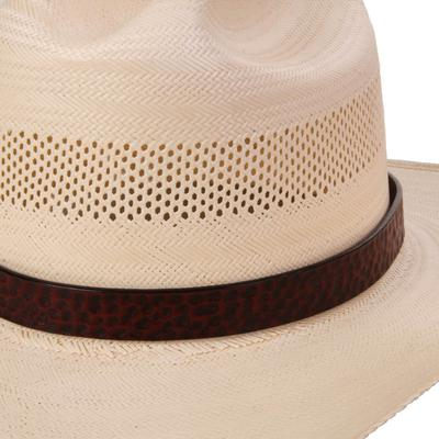 Austin Accent's Genuine Leather Hat Band BRN