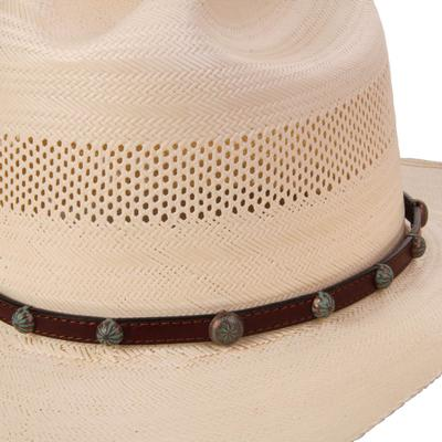 Austin Accent's Faded Studded Hat Band