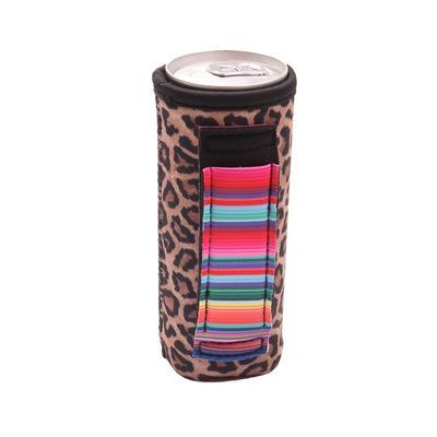 Leopard & Serape Slim Pocket Handler
