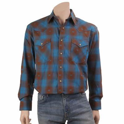 Panhandle Men's Western Jacquad Shirt