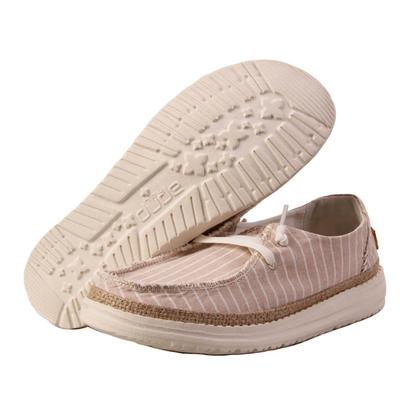 Hey Dude Women's Beige Wendy Stripes