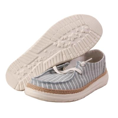 Hey Dude Women's Mint Wendy Stripes