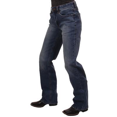 Rock & Roll Men's Double Barrel Relaxed Straight Leg Light Wash Jean