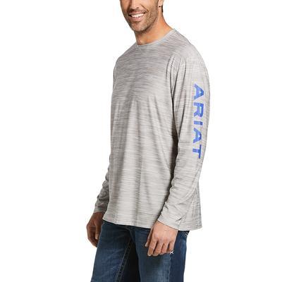 Ariat Men's Long Sleeve Charger Logo Tee