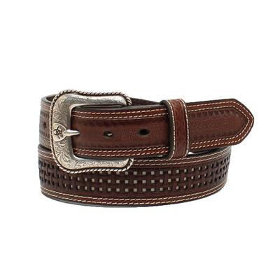 Ariat Men's Pierced Basket Weave Strap