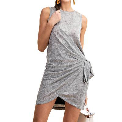 Kori Women's Side Tie Tank Top Dress