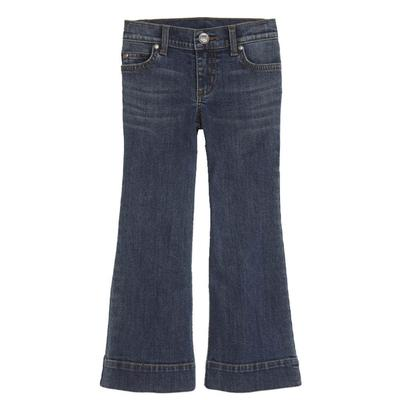 Wrangler Girl's Medium Wash Trouser Jeans