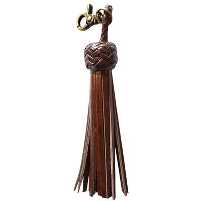 American Darling Brown Leather Tassel