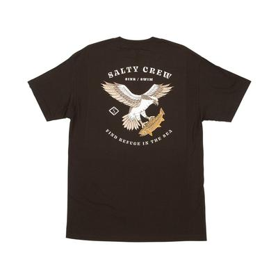 Salty Crew Men's Fish Hawk Black Tee