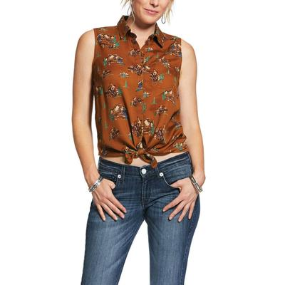 Ariat Women's Welcome To The Ranch Tank Top