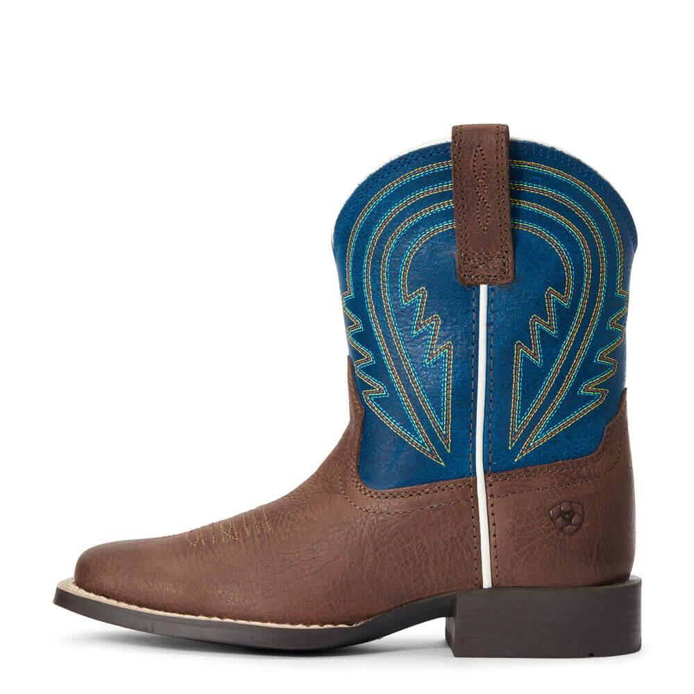 Chocolate Lil' Hoss Western Boots