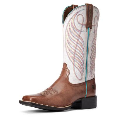 Ariat Women's Round Up Wide Square Western Boots