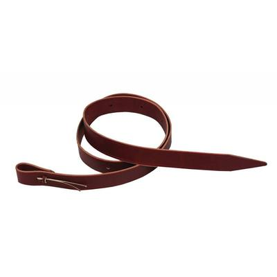 Berlin Saddle Tie Latigo In Burgundy