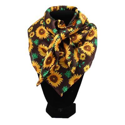 Silk Sunflower Wild Rag