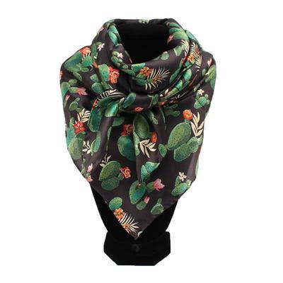 Black Silk Cactus Wild Rag