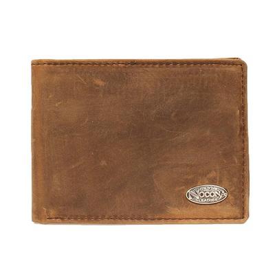 Nocona Men's Medium Brown Bifold Flipcase Wallet
