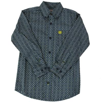 Cinch Boy's Blue Button Down Shirt
