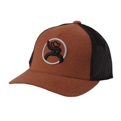Hooey Youth Strap Roughy Brown Cap