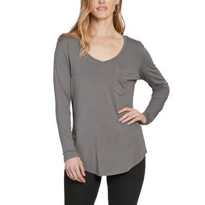 Another Love Women's Molly Long Sleeve Top SHADOW